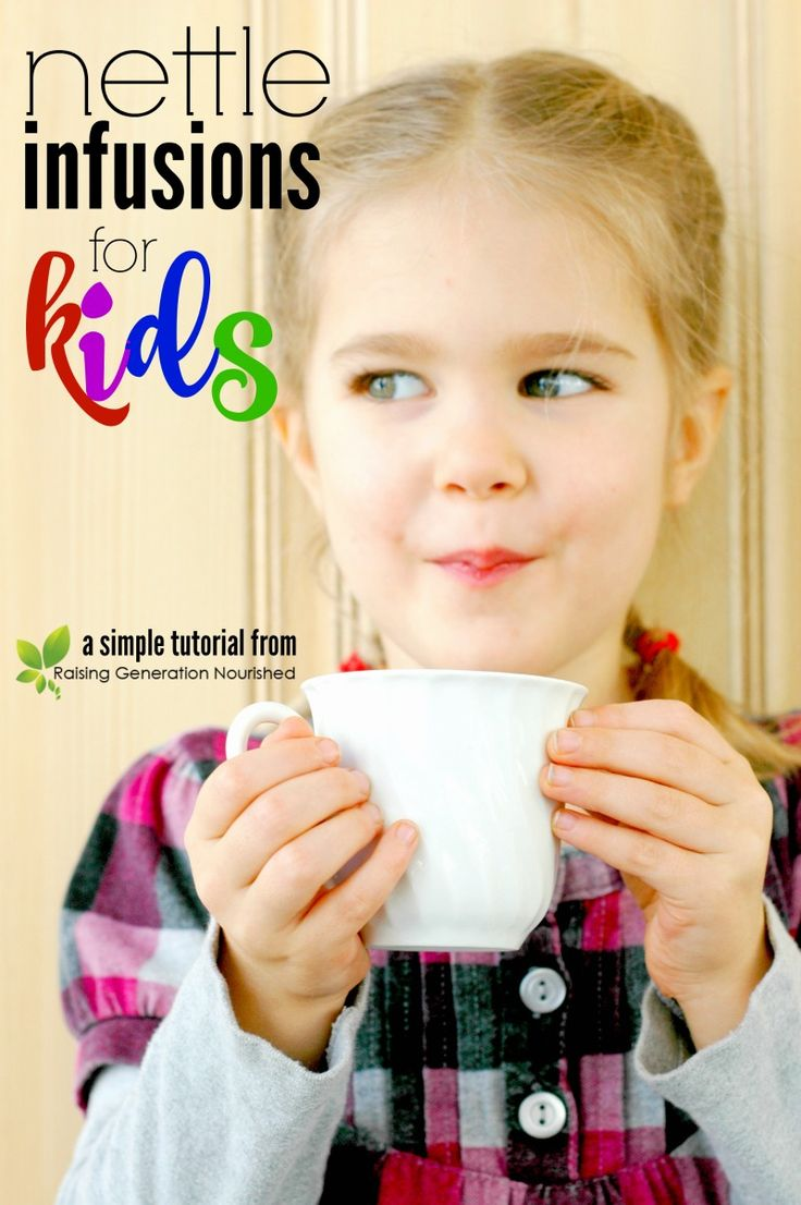 Nettle Infusions For Kids!