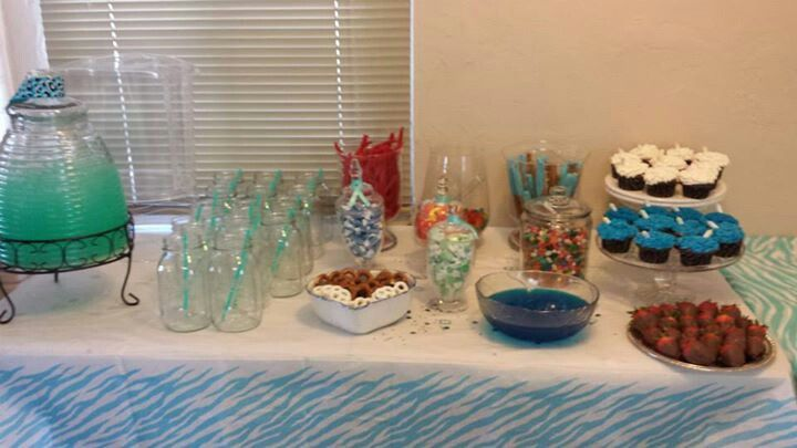 candy table baby shower boy baby shower pinterest