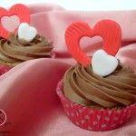 #Cupcakes alla #vaniglia e cioccolato tipici di #SanValentino @guarnireipiatti