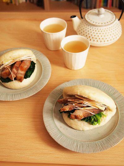 マントウでチャーシューサンドのお昼ごはん。 by Rouさん | レシピ ...