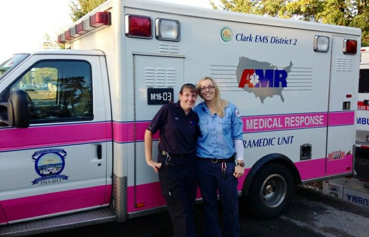 Ambulances go pink for breast cancer month