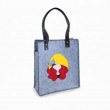 Özel Tasarım Gri Keçe Çanta El yapımı, gri, 41x34.5 cm keçe çanta.Güvenli alışveriş, kapıda ödeme ve taksit seçenekleri. http://www.kedivekedi.com/Ozel-Tasarim-Gri-Kece-Canta,PR-38.html