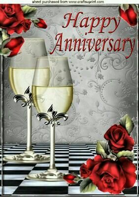 Happy Anniversary to my dear sister Rita and Joe.all the best♡♡♡.