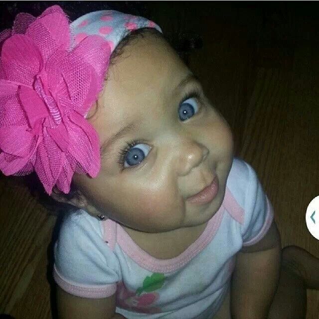 Blue Eyed Baby Girl Quotes: 7 Best Half Black Ginger Baby Images On Pinterest