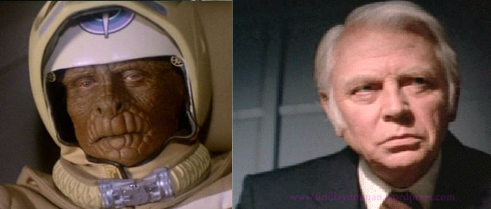 """Dan O'Herlihy as Grig in the 1984 sic-fi film """"The Last Starfighter.""""  This was the first time I really noticed this great Irish-American actor and it was because of his voice.  Great Sonorous Voice!"""
