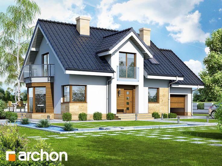 Дом в рододендронах 6 (A) - Проект ARCHON+