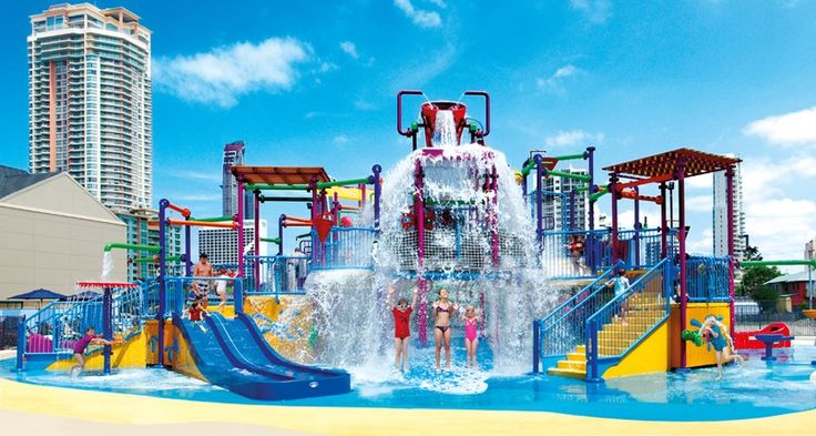 The Z4K Kids park is the most recognizable feature of Paradise Resort and cost over 1 Million Dollars to make!