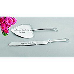 Best 25 Engraved wedding cake knifes ideas only on Pinterest