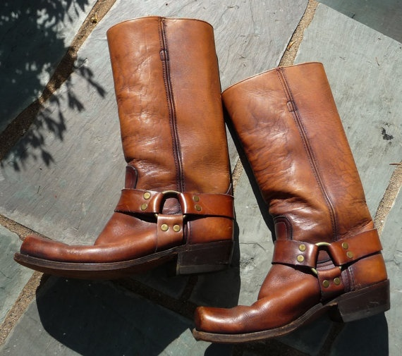 Iconic Perfectly Distressed Men S 1970s Vintage Frye