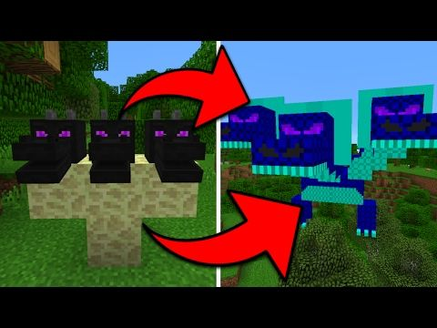 How To Spawn the Hydra Dragon Boss in Minecraft Pocket Edition (Hydra Boss Addon) - YouTube