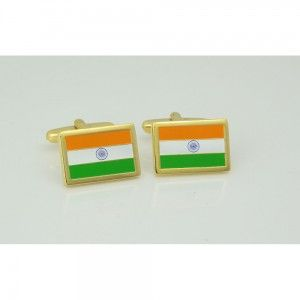 - Cufflinks (Indian) FLG-100 - FREE SHIPPING provided anywhere in India !
