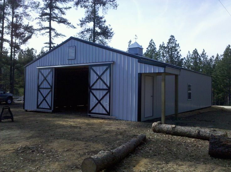 Pin by jennifer shea eastman on barns pinterest for Building a pole barn shed