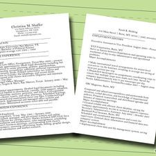A resume is a self-advertisement that, when done properly, shows how your skills, experience, and achievements match the requirements of the job you want. This guide provides three free samples on which you can base your resumé. It will ...