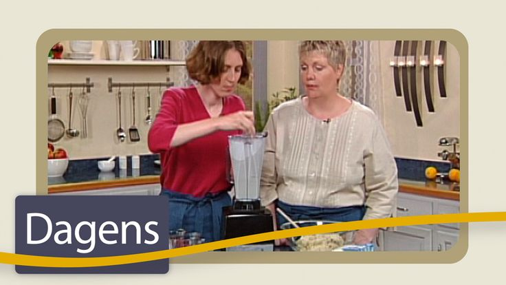 Recept som lagas i programmet: Dansk hasselnöts-stek, brun cashewnöts-sås, ris a la malta