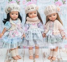 Шебби-похвастушки / Одежда и обувь для кукол своими руками / Бэйбики. Куклы фото. Одежда для кукол