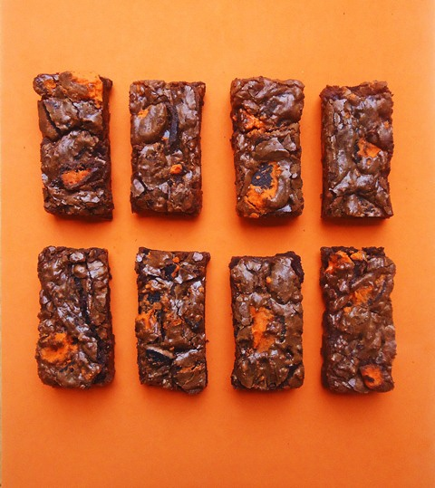 halloween oreo brownies - we have a winner! this is what the office gets this month.