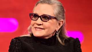 Image copyright                  PA                                                                          Image caption                                      Fisher had been on tour promoting her latest book The Princess Diarist.                                US actress Carrie Fisher, who played Princess Leia in the Star Wars films, is in a critical condition