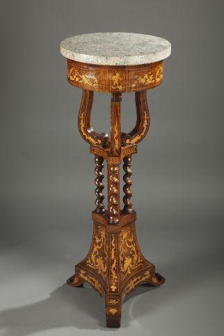 Early 19th century mahogany guéridon