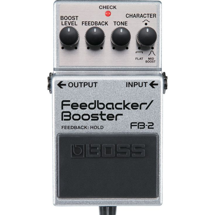Boss FB-2 Feedback Booster Pedal