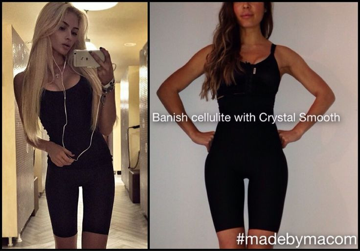 Crystal Smooth looks just like a normal pair of leggings but has the anti-cellulite power built inside its fibre.. treating cellulite no matter how you wear them