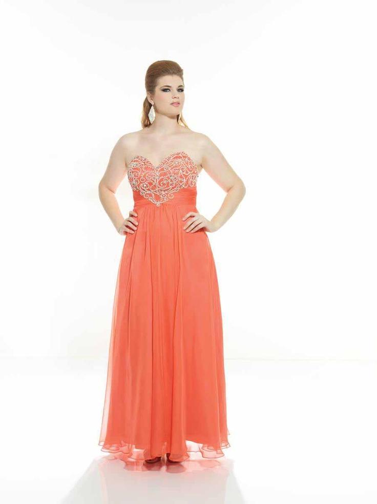 Riva Dreamz D468 Plus Size Prom