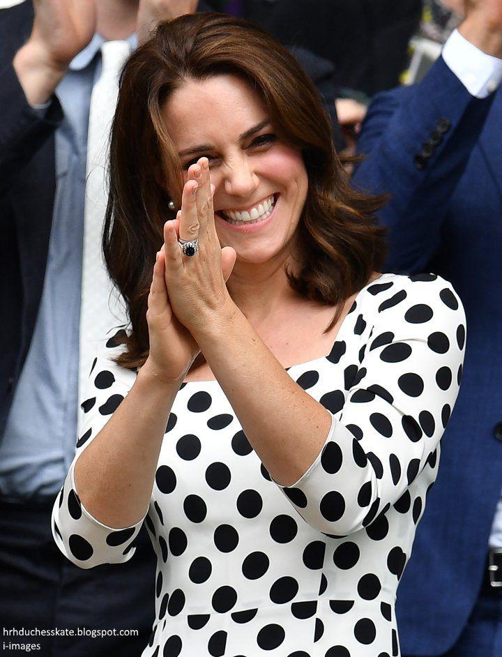The Duchess of Cambridge at Wimbledon, July 3, 2017