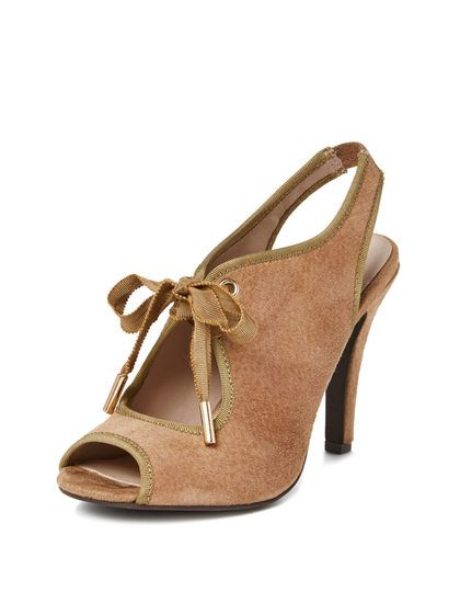 Phenomenon Peep-Toe Pump by Seychelles at Gilt loving this Spring shoe #spring #shoes