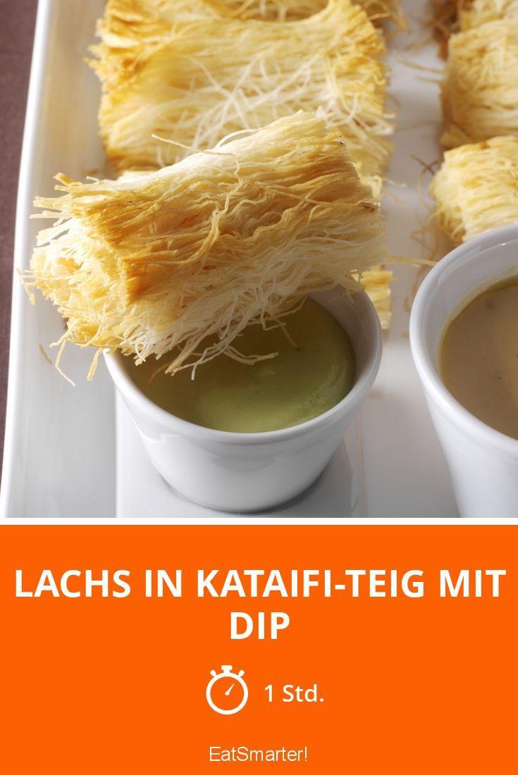 Lachs in Kataifi-Teig mit Dip - smarter - Zeit: 1 Std.   eatsmarter.de