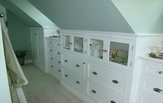 pics of knee wall built ins - Google Search
