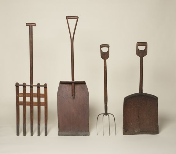 Shovels, Collection of the Shaker Museum| Mount Lebanon, NY