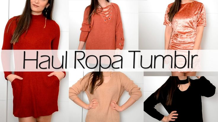 HAUL ROPA TUMBRL con YOINS + TRY ON | PetitSweetCouture
