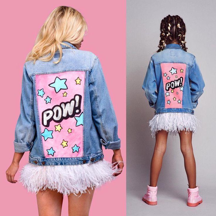 #LIKEMOTHERLIKEDAUGHTER Детская коллекция DARIA Y MARIA KIDS создана по мотивам взрослой женской коллекции курток, специально для того что бы мамы и дочки могли одеваться одинаково, ведь это сейчас так модно!
