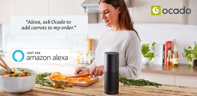 Ocado launches Alexa app for grocery shopping by voice