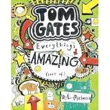 Tom Gates by Liz Pichon, most requested at the Just Imagine Story Centre