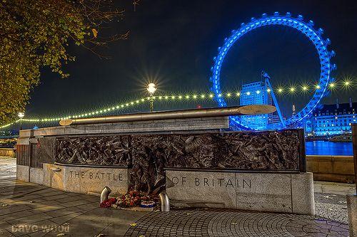 Battle of Britain Monument, Victoria Embankment, London