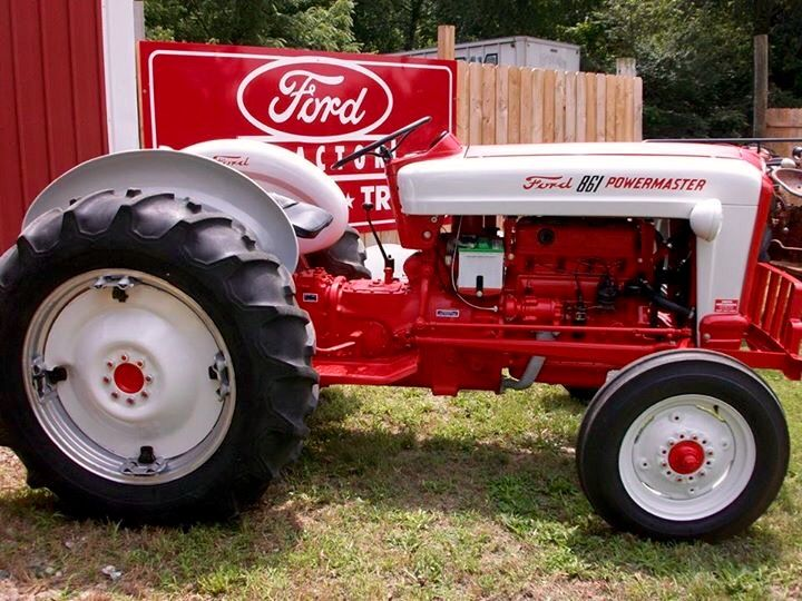 Vintage Front Wheel Drive Tractors : Best images about ford tractors on pinterest
