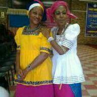 Sepedi traditional attire