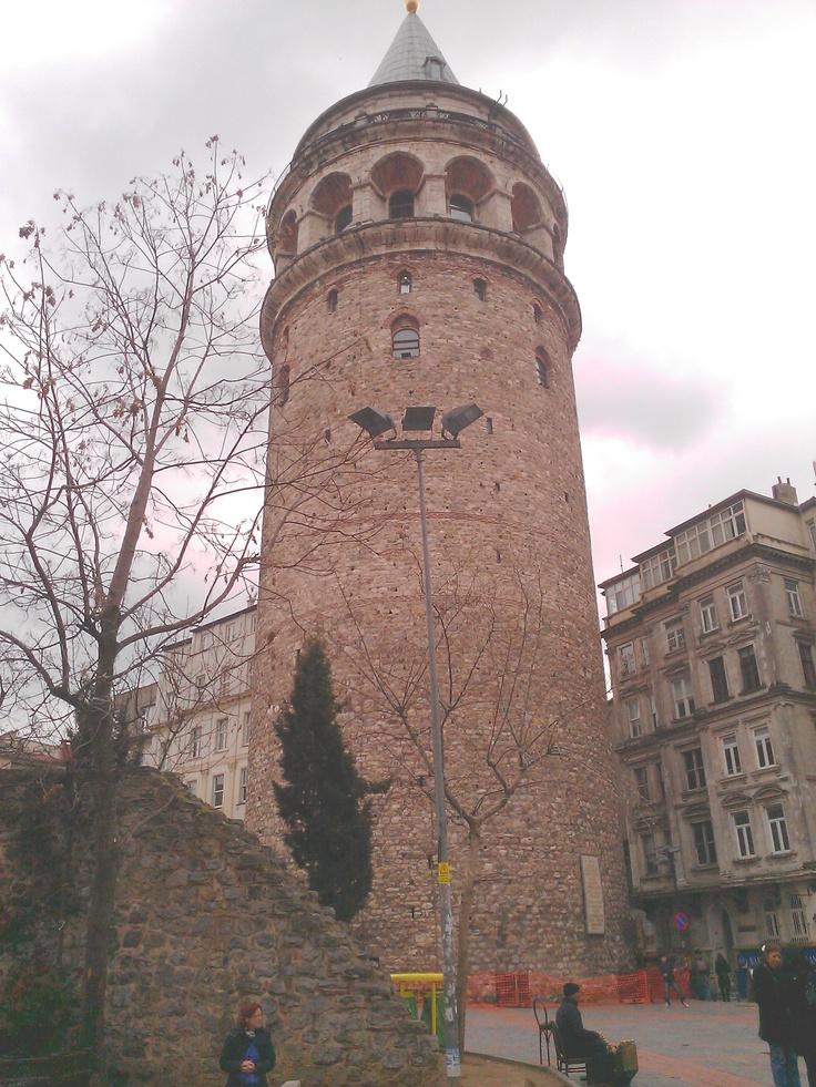 Galatská věž v Turecku