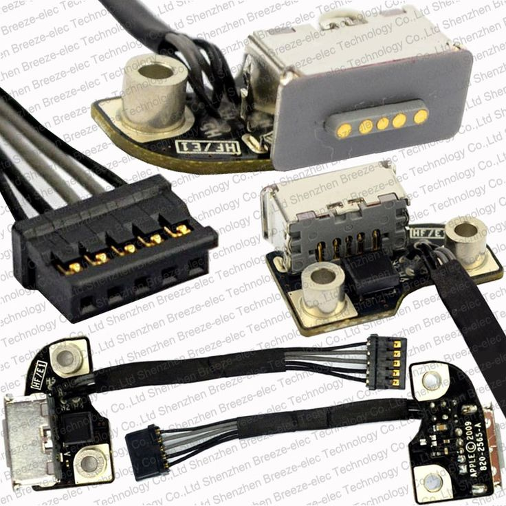 """Tested 820-2565-A I/O Board For Magsafe for Macbook Pro Unibody 13"""" 15"""" A1278 A1286 A1297 2009- 2012 DC Power Jack Free shipping"""
