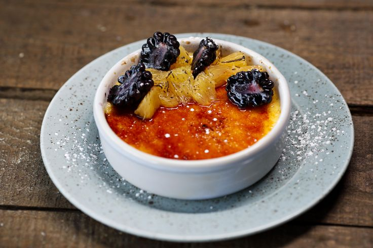 What a delish way to end a great meal! #yum #cremebrûlée #swords #dublin