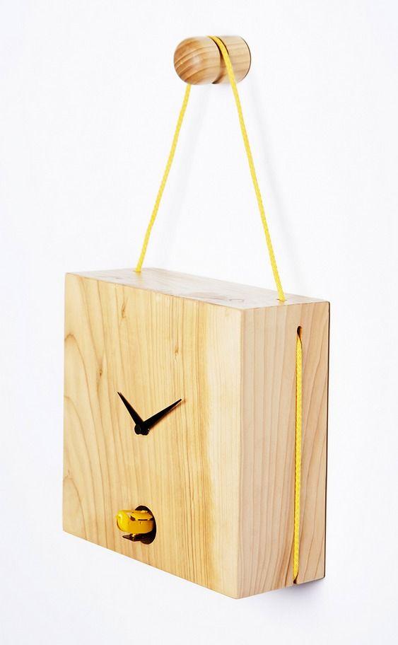 Relógio Ninho Passarinho