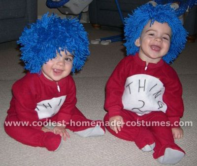 thing 1 and thing 2 for sam and henrys halloween costumes this year yes - Cat In The Hat Halloween Costume Ideas
