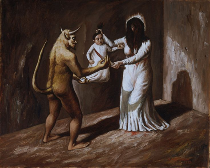 Raúl Anguiano: La Llorona (The Weeping Woman), 1942.