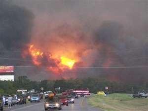 Bastrop Fire 2011
