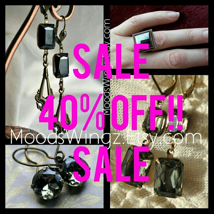 One week only Storewide SALE 40% off everything MoodsWingz.Etsy.com