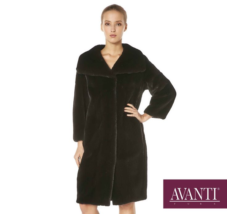 AVANTI FURS - MODEL: GROSE 2N BLACKGLAMA MINK JACKET #avantifurs #fur #fashion #mink #blackglama #luxury #musthave #мех #шуба #стиль #норка #зима #красота #мода #topfurexperts