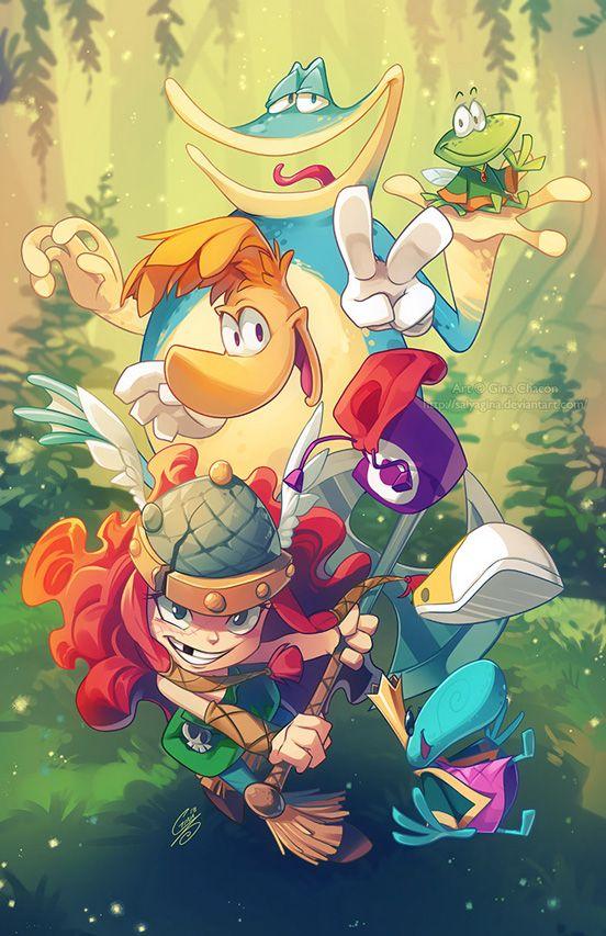 Rayman Legends   Illustration Art   The Design Inspiration