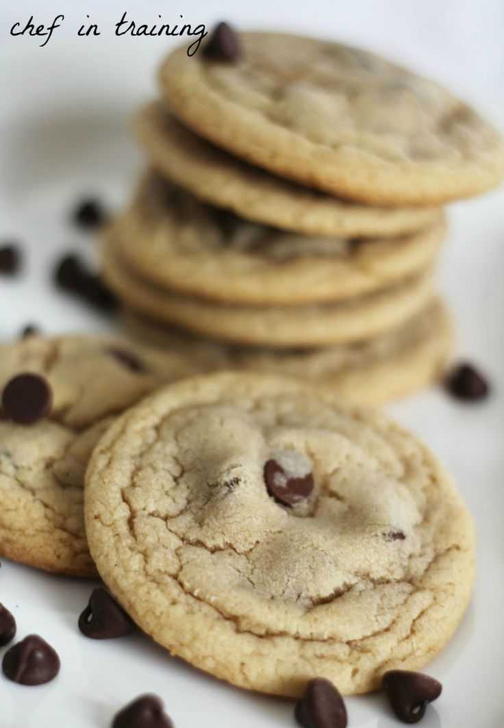 Mom's Famous Chocolate Chip Cookies!... We get asked for this recipe all the time! They are SO good!