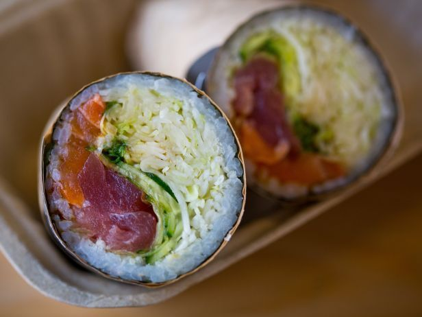 3 of a Kind: Sushi Burritos One place is in Chicago!