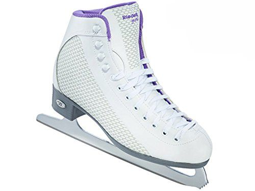 Riedell 113 2015 Model Figure Skates Sparkle WhiteViolet 7 -- Want to know more, click on the image.